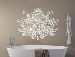 Bungalow Rose Estrella Lotus Flower Mandala Wall Decal Reviews Wayfair