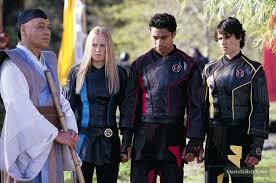 Power Rangers Ninja Storm publicity still of Sally Martin and ...