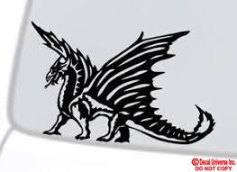 Dragon Vinyl Decal Sticker Car Window Wall Bumper Tribal Asian Symbol Of Power Ebay