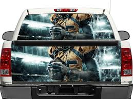 Product Nfl Rear Window Or Tailgate Decal Sticker Pick Up Truck Suv Car
