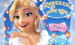 rapunzel wedding makeup rapunzel games
