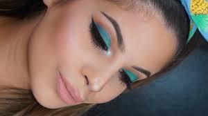 bright spring makeup tutorial 2016