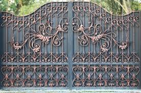 Wrought Iron Gates Design Ideas You May Adopt Boots On The Roof
