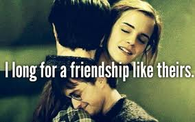 deathly hallows forever friends friendship image on