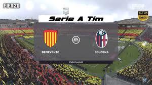 FIFA 20 - Benevento vs Bologna - Calcio Serie A season 2020/21 giornata 3 -  YouTube