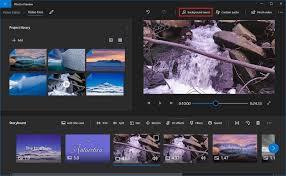 photos app video editor on windows 10