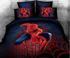 spiderman full queen size bed quilt