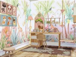 Jungle Kids Room By Mini Simmer At Tsr Sims 4 Updates