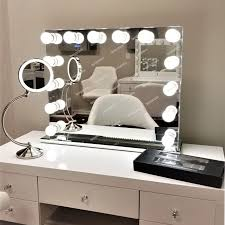 hollywood light up mirror vanity large