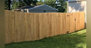 6 Foot Privacy Fence Project By Joel At Menards