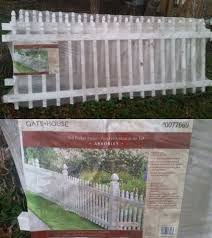 Fence Panels 139946 White Provincetown 3 Ft H X 8 Ft W Water Resistant Vinyl Picket Fence Panel Kit Buy Vinyl Fence Panels Picket Fence Panels Vinyl Fence