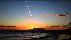 منظر غروب الشمس على شاطئ البحر Hd Youtube