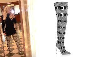 Gli stivali di Wanda Nara: la marca e quanto costano