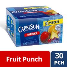 fruit punch flavored juice drink blend