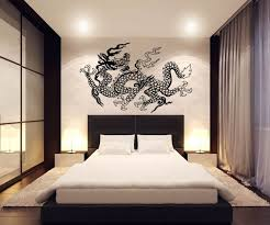 Dragon Decal Wall Decor Wall Decor Japanese Wall Decor Japanese Bedroom Decor Japanese Bedroom