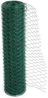 Easipet Pvc Coated Green Chicken Wire Fencing In 3 Widths 50m Length 900mm 816 Amazon Co Uk Pet Supplies