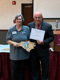 2019 NCCEAPA Distinguished Service Award West District Recipient Ivy Olson  | NC State Extension