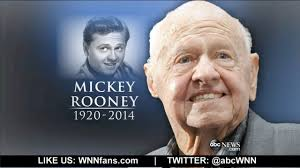 Mickey Rooney Dead at Age 93 - YouTube