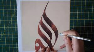 how to make a stencil you