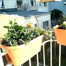planters for balcony uk railing planter