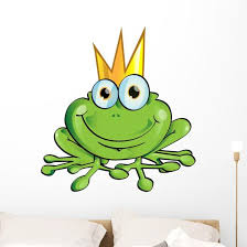 Frog Prince Wall Decal Wallmonkeys Com