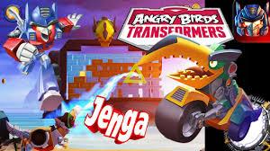 Angry Birds Transformers JENGA GRIMLOCK Unlocked! - YouTube