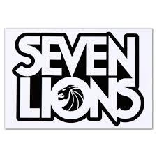 Seven Lions Logo Sticker Logo Sticker Lion Logo Logos