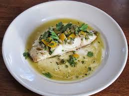Cod with Lemon-Caper Relish