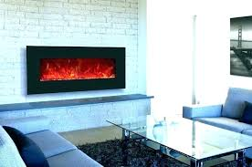 wall mount fireplace under tv table