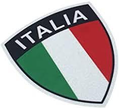 Amazon Com Italian Car Decal