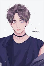 kim taehyung fanart discovered by hun