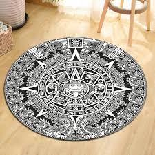 black white mandala geometric sun
