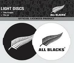 New Zealand All Blacks Led Light Up Car Power Decal 9340579005046 Ebay
