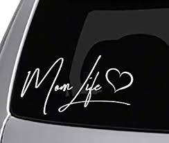 Amazon Com Seek Mom Life Vinyl Decal Car Truck Window Sticker Funny Peace Automotive