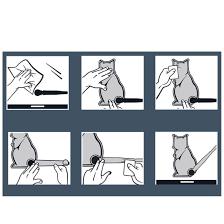 Rear Wiper 3d Cat Sticker Car Auto Window Windshield Diy Decoration Cu Edeals123