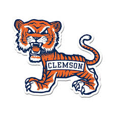 Clemson Old School Tiger Decal Palmetto Moon Online