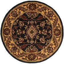 safavieh golden jaipur black gold 4 ft