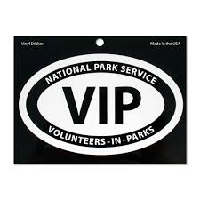 Volunteers In Parks Vinyl Sticker Arrowhead Store
