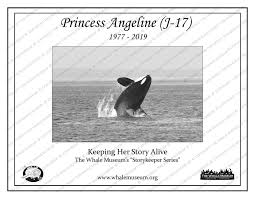 Princess Angeline (J-17) Storykeeper | The Whale Museum