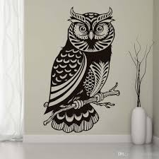 Dctop Kids Favorite Cute Owl Wall Sticker For Kids Rooms Vinyl Hollow Out Diy Wall Art Decals Home Decoration Accessories White Tree Wall Stickers White Vinyl Wall Decals From Joystickers 10 76 Dhgate Com