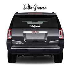 Delta Gamma Decal Sorority Decal Car Decal Big Little Gift Etsy