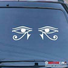 Eye Of Horus Egypt Decal Sticker Egyptian Symbol God Car Vinyl Pick Size Color G Rainbowlands Lk