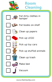 Week 5 Room Cleaning Checklist The Trip Clip Blog Make Any List Then