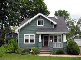certainteed ivy green siding on homes pictures | save to ideabook email  photo | Green house siding, Bungalow exterior, House exterior