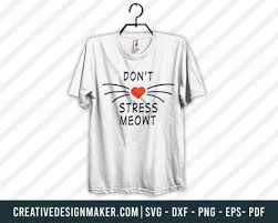 Cat Svg Printable Files Creativedesignmaker