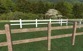 Second Life Marketplace Country Fence Sculpted Horse Fence Sculpted Wood Fence White Fence Uv Map For Builders Swf8