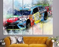 Kyle Busch Wall Art Etsy