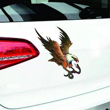 Car Truck Suv Decal Vinyl Sticker Hood Decals Flying Eagle Reflective Sticker Auto Parts And Vehicles Car Truck Graphics Decals Magenta Cl