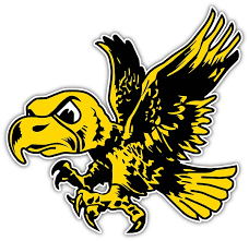Iowa Hawkeyes Vintage Herky The Hawk Vinyl Die Cut Decal S