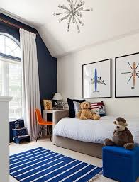 A Touch Of Drama Black Navy Accent Walls In Kids Rooms Cool Bedrooms For Boys Big Boy Room Toddler Boys Room